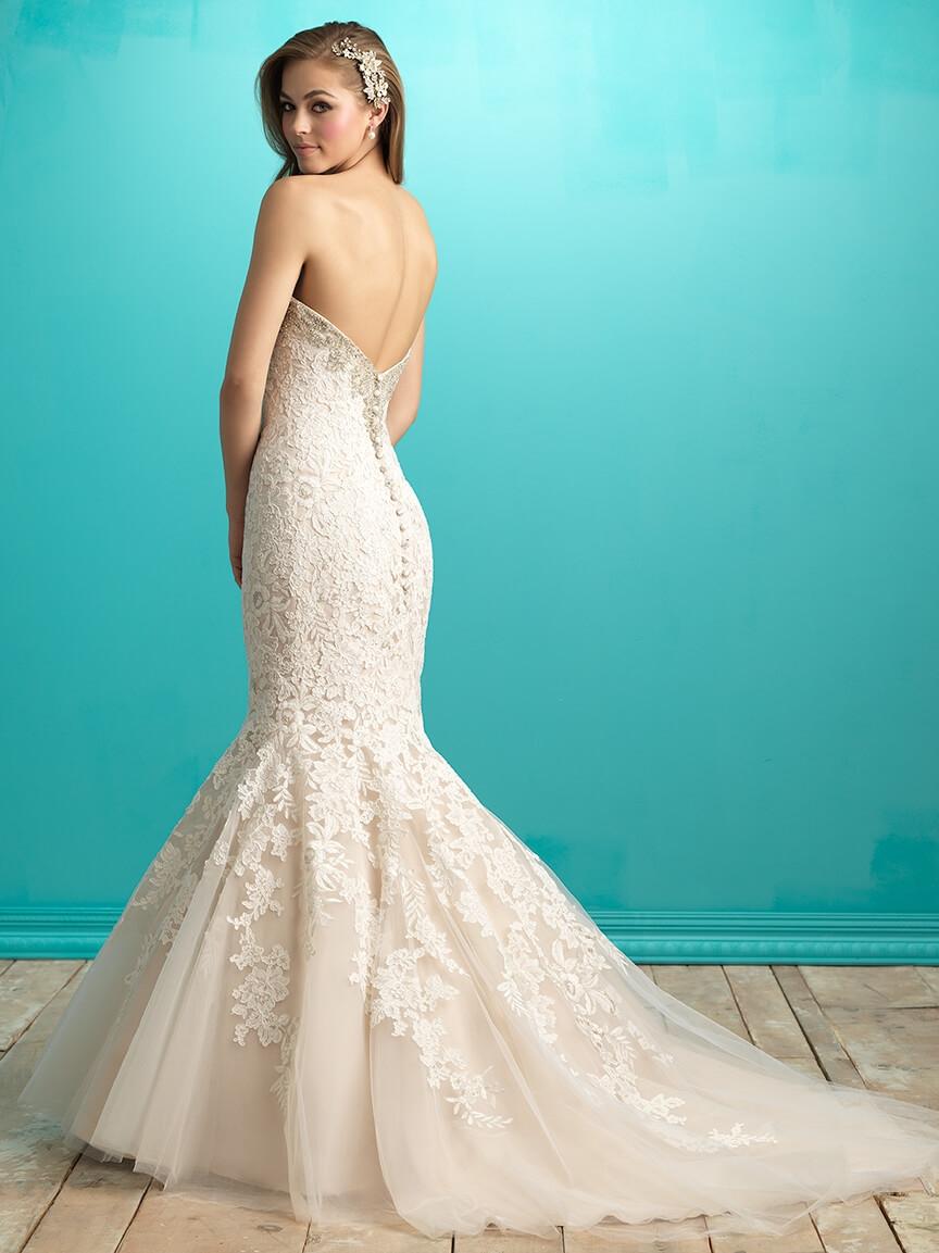 Allure Bridal style 9266