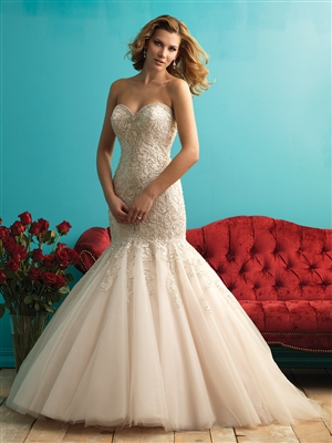Allure Bridal style 9275