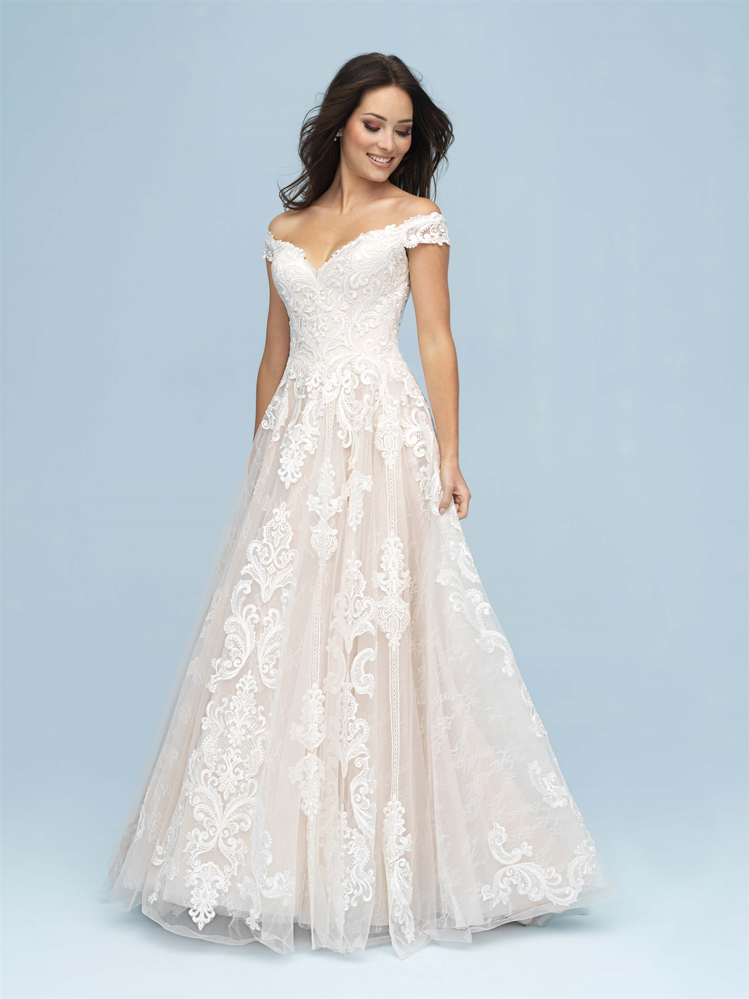 Allure Wedding Dresses.Allure Bridal Style 9619